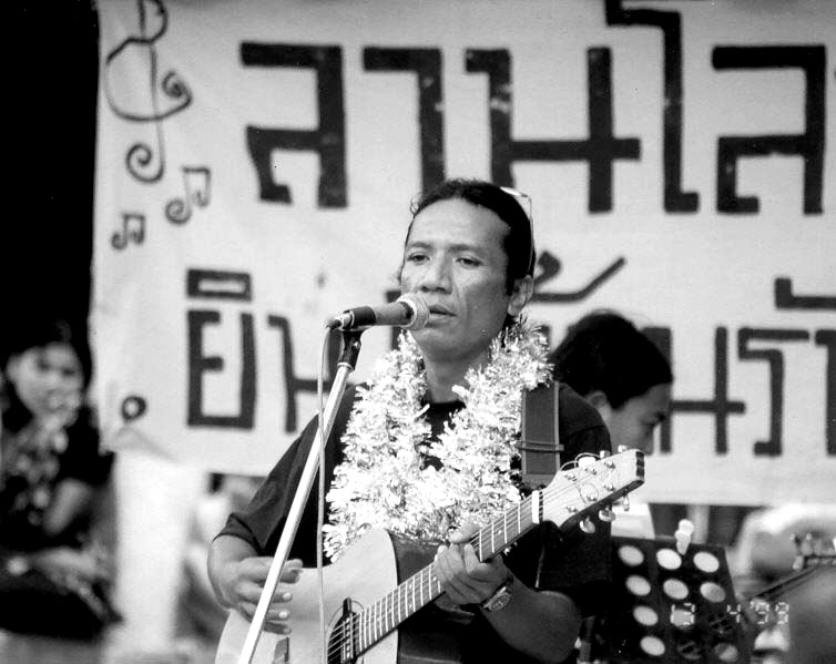 Myanmar Musician and Rocking Revolutionary