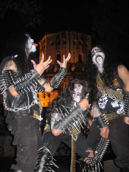 Pic of black metal band Surrender of Divinity