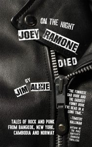Cover of Joey Ramone book