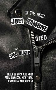 Book cover of On the Night Joey Ramone Died