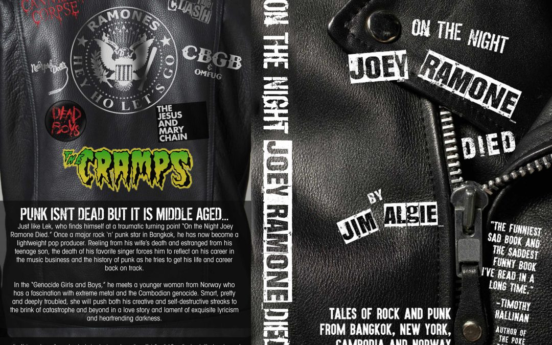 New Expanded Paperback Edition of On the Night Joey Ramone Died