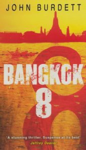 Front cover of Bangkok 8 novel