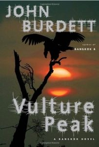 Cover of Vulture Peak novel