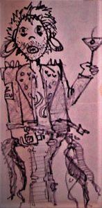 SNFU front man's artwork