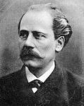 Portrait of Gustav Flaubert.